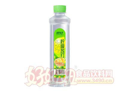 明好柠檬苏打水饮料400ml