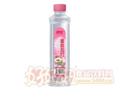 明好蜜桃苏打水饮料400ml