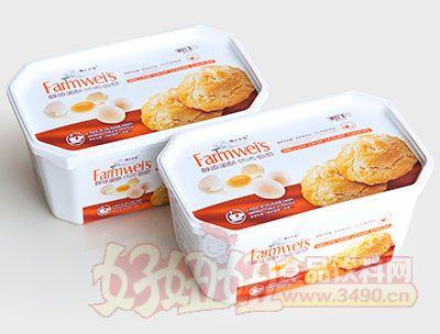 魏仕农场醇香蛋酥曲奇饼干132g