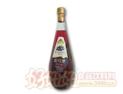 蓝莓汁果汁饮料1.5L