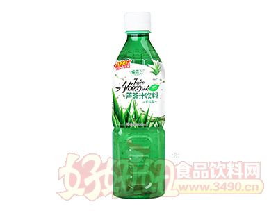 椰奥果粒型芦荟汁饮料500ml