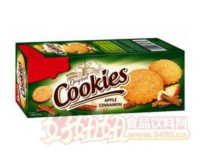 苹果桂皮饼干150g
