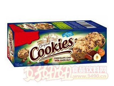 榛子巧克力饼干135g