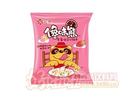尚澄馋味熊草莓味注心饼干16g