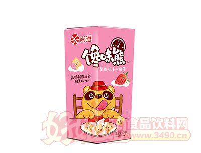 尚澄馋味熊草莓味注心饼干50g