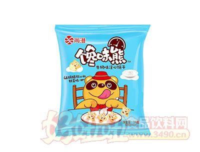 尚澄馋味熊牛奶味注心饼干16g