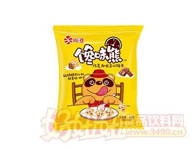 尚澄馋味熊巧克力味注心饼干16g