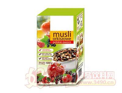 欧洲混合水果麦片1kg