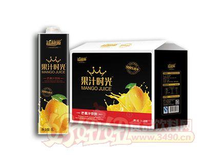益和源果汁时光芒果汁饮料1L×8盒