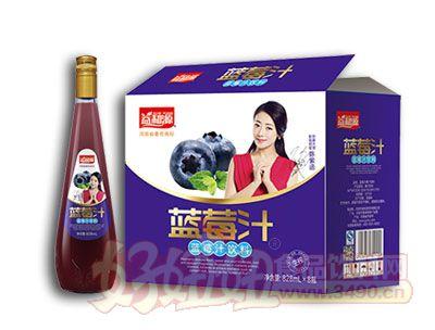 益和源蓝莓汁饮料828ml×8瓶