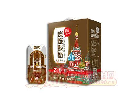 甄秀俄式炭烧酸奶200ml×12盒