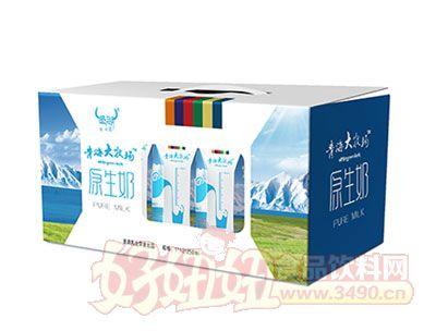 青海大牧场原生奶12盒*250ml