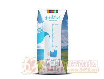 青海大牧场原生奶250ml
