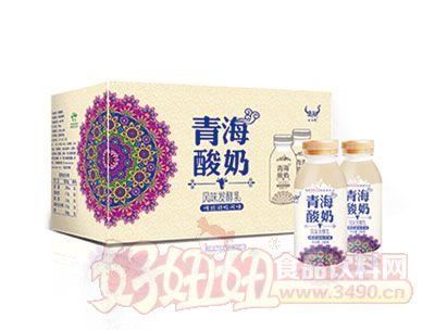 青海酸奶245克*8瓶展示