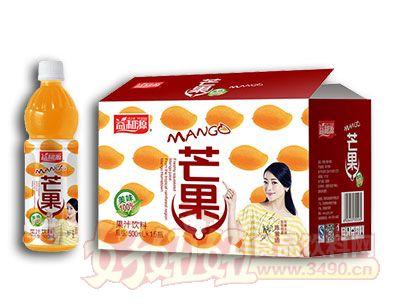 益和源芒果果汁饮料500ml×15瓶