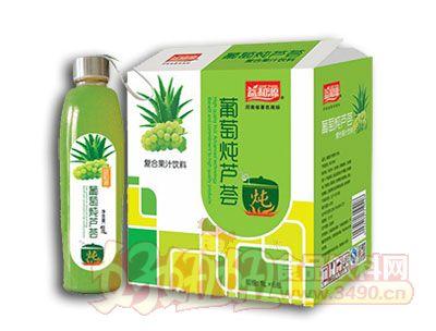 益和源葡萄炖芦荟1L×6瓶