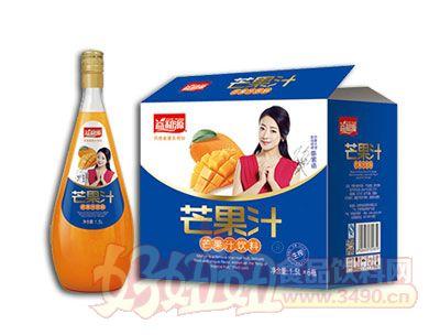 益和源芒果汁饮料1.5L×6瓶
