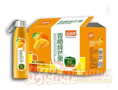益和源香橙炖芒果420ml×12瓶