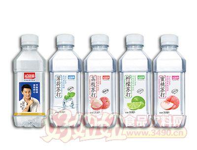 益和源果味苏打水饮料350ml系列