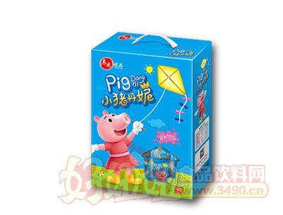 养元优品小猪丹妮含乳饮品200ml蓝色礼盒