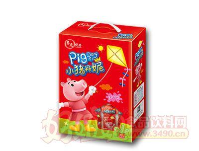 养元优品小猪丹妮含乳饮品200ml红色礼盒