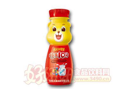成长优冠星快乐10分含乳饮品200ml(红)