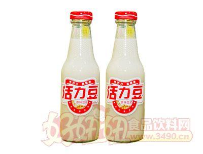活力豆原味豆奶瓶