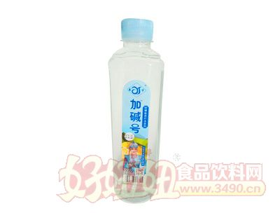 加碱号柠檬味苏打水420ml