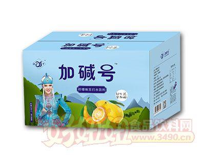 加碱号柠檬味苏打水420ml*24瓶