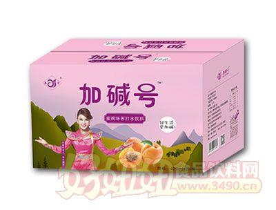 加碱号柠蜜桃味苏打水420ml*24瓶