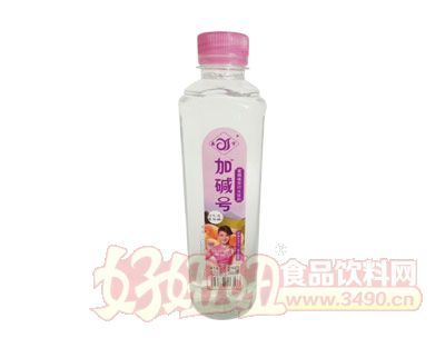 加碱号柠蜜桃味苏打水420ml