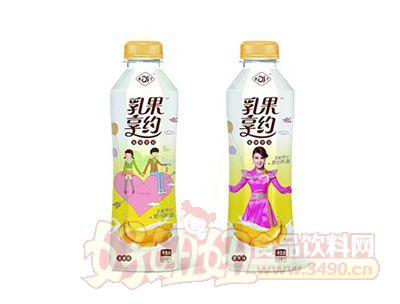 乳果享约香蕉味乳味饮品