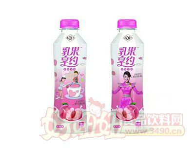 乳果享约蜜桃味乳味饮品
