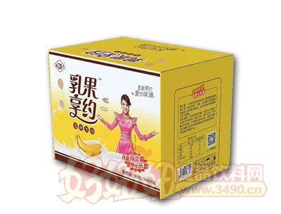 乳果享约香蕉乳味饮品500ml*15瓶