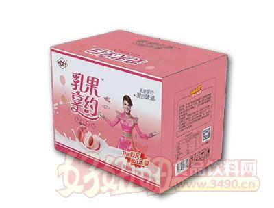 乳果享约蜜桃乳味饮品500ml*15瓶