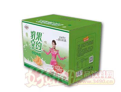 乳果享�s哈密瓜乳味�品500ml*15瓶