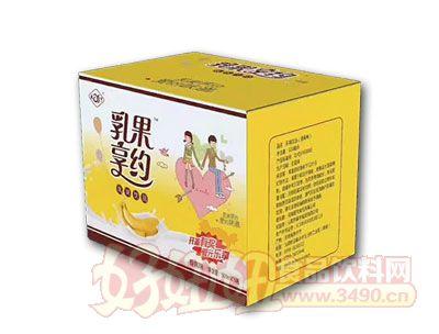 乳果享�s香蕉味乳味�品500ml*15瓶