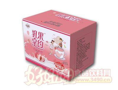 乳果享�s蜜桃味乳味�品500ml*15瓶