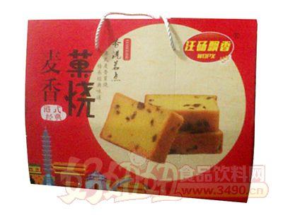 汪砀飘香港式经典麦香菓烧礼盒