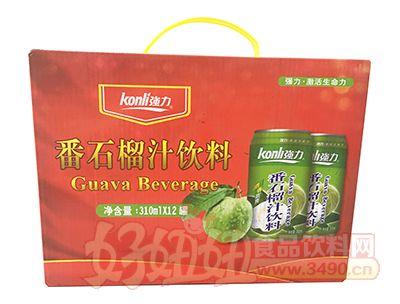 强力番石榴汁饮料310mlX12罐