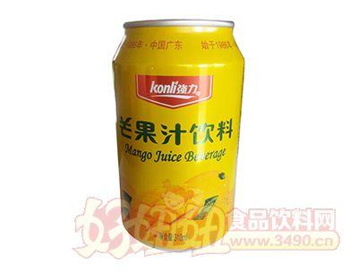 强力芒果汁饮料罐装310ml