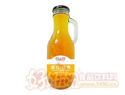 喜牵喜港式经典发酵芒果汁饮料1.5L