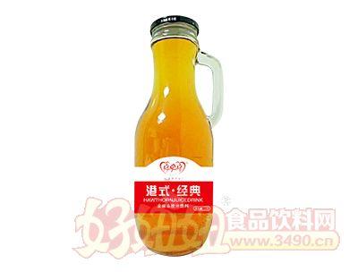 喜牵喜港式经典发酵山楂汁饮料1.5L