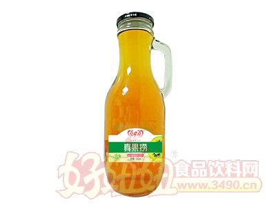 喜牵喜真果捞山楂猕猴桃复合果汁饮料1000ml