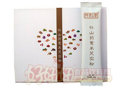 怀府人家怀铁棍山药薏米芡实粉原味200g(20g×10小包)