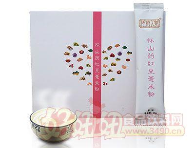 怀府人家怀铁棍山药红豆薏米粉原味200g(20g×10小包)
