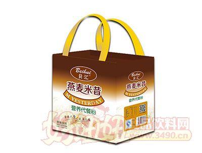 贝汇燕麦米昔固体饮料礼盒手提袋