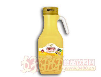 慧友果园百香果果汁饮料1L
