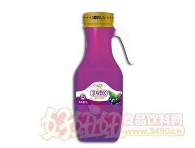 慧友果园蓝莓汁饮料1L