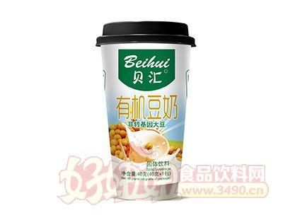 贝汇有机豆奶固体饮料40克